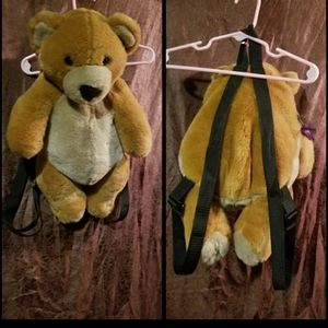 Teddy Beat bookbag